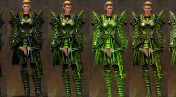 St. Patrick's Day Green Gank!