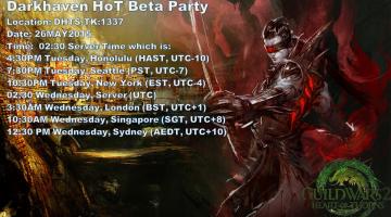 Darkhaven HoT Beta Party!!